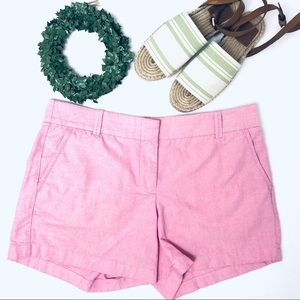 J.Crew Light Pink Cotton Shorts